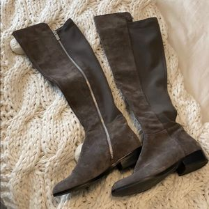 Grey Michael Kors OTK boots size 8